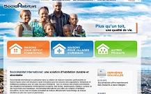 Un premier site Internet pour SocioHabitat !